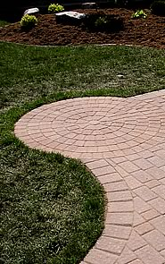 Circular Pattern in Walkway